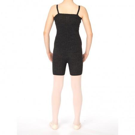 Combi-short maille sans couture