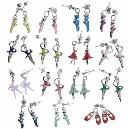Bijoux danseuse - boucles d'oreilles
