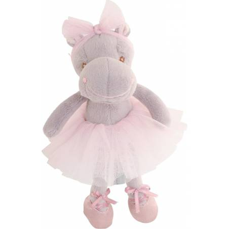 petite peluche hippopotame ballerine