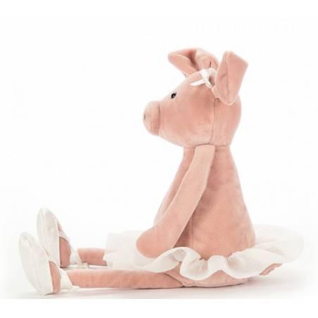 Peluche cochon ballerine