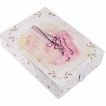 Boîte à bijoux Ballet petit modèle avec miroir